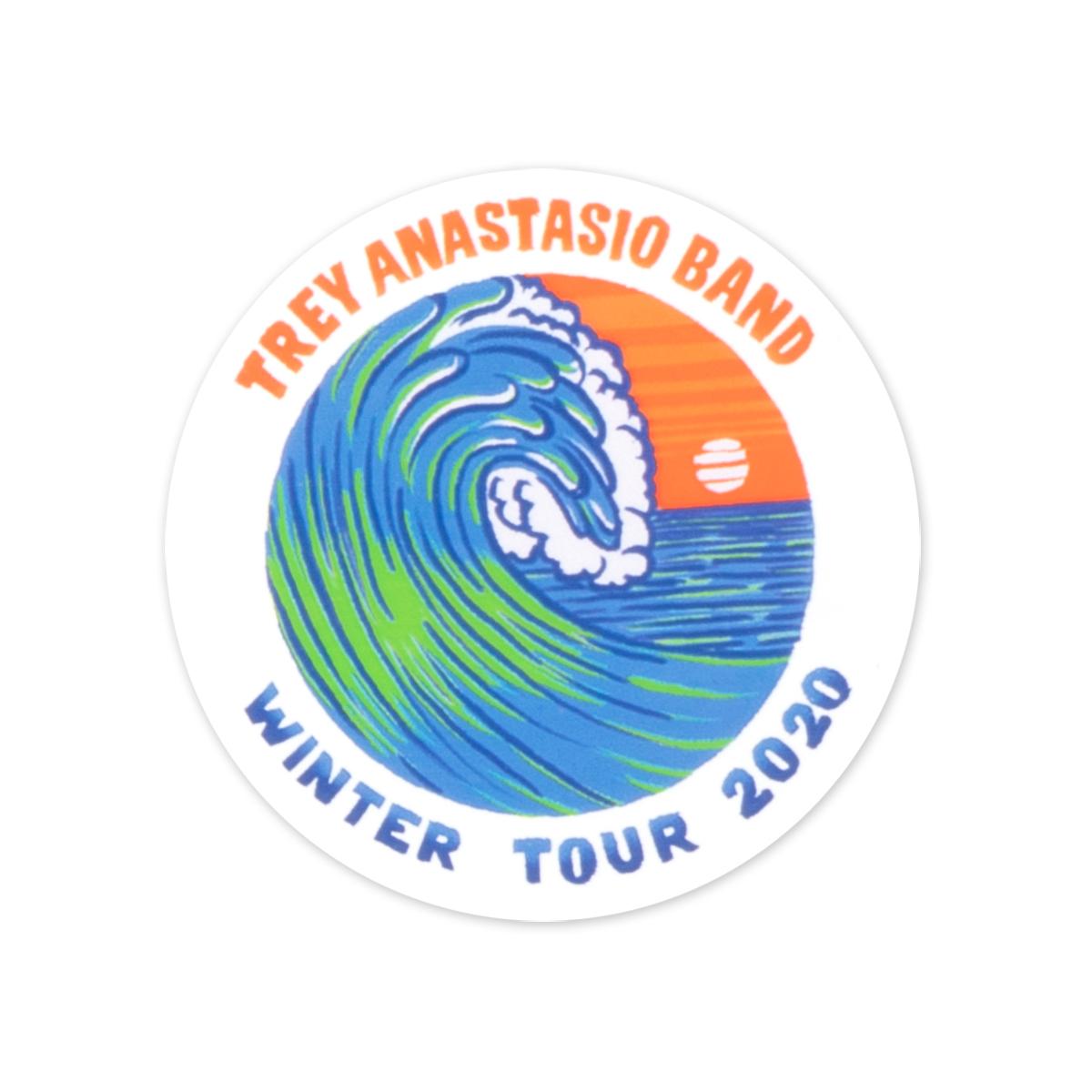 Pacific Surf Sticker