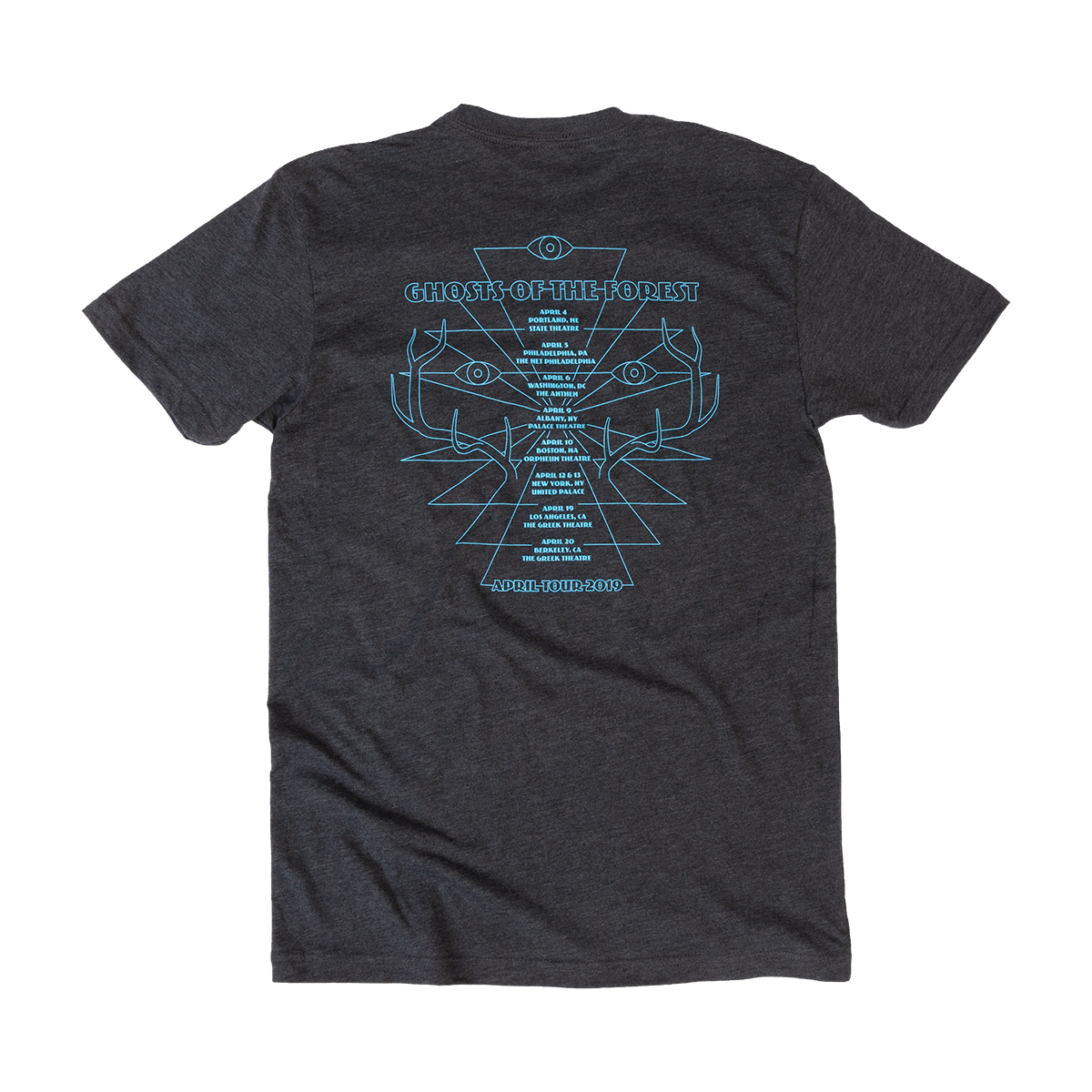 Ghosts of the Forest Horns Tour Tee