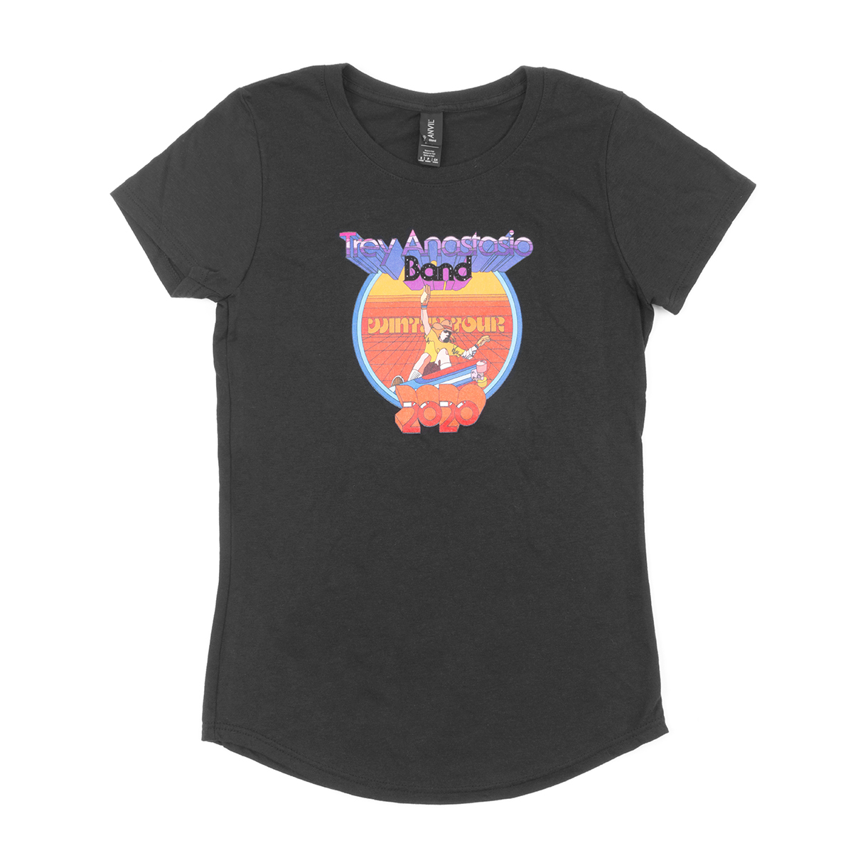 Trey Anastasio Band Women's Skating Cowboy Tee