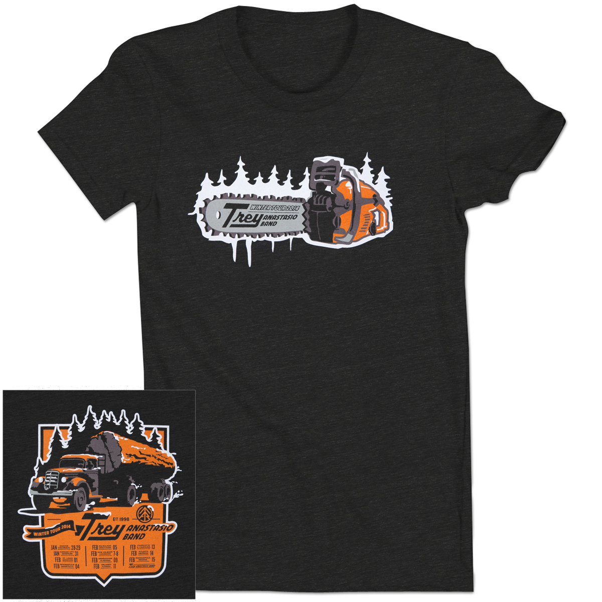 Ladies' Trey Anastasio Band Winter 2014 Chainsaw T