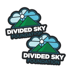 Divided Sky Foundation Fridge Magnet