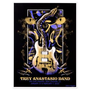 Trey Anastasio The Civic Theatre, New Orleans, LA 2020 Poster