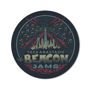 Trey Anastasio The Beacon Jams Sticker