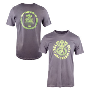 Trey Anastasio Trio Snake T-shirt Dark Grey