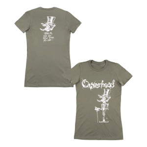 Mr. Oysterhead Women's Tour T-shirt