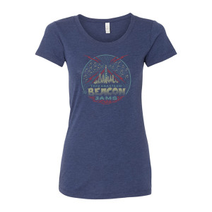 Trey Anastasio Women's The Beacon Jams T on Navy Tri-blend