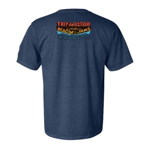 Pollock Guitar Beacon Heavyweight Tee on Midnight