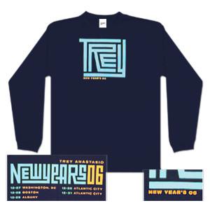 Trey Anastasio Long Sleeve New Years Maze T-Shirt