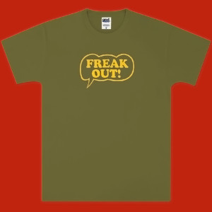 Frank Zappa Freak Out! Olive T-Shirt