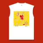 Frank Zappa Sunburn Monster Sleeveless T-Shirt