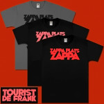 Zappa Plays Zappa Tourist De Frank T-shirt