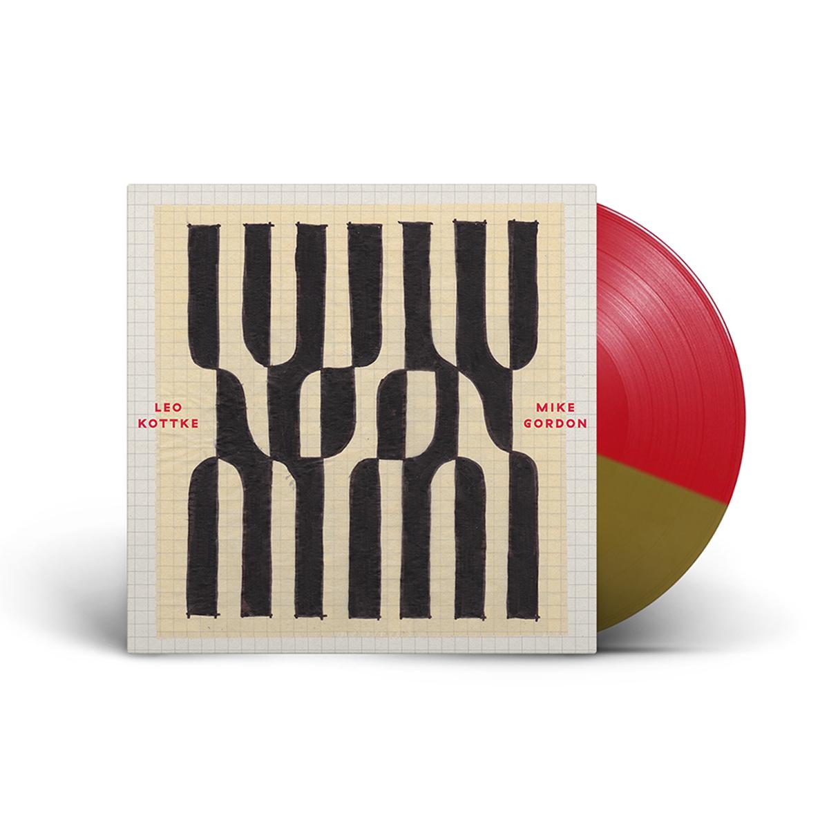 Leo Kottke & Mike Gordon Noon Red/Gold Split Colored Vinyl