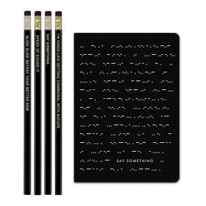 Mike Gordon Morse Code Journal/Pencil Set