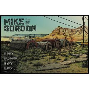 Mike Gordon Winter 2018 Tour Poster