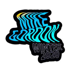 Mike Gordon Winter Tour 2020 Sticker