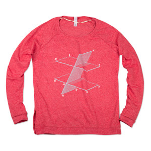 Women's Mike Gordon Points & Planes Pullover T