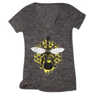 Ladies' Yarmouth Road Bass Bee T-Shirt