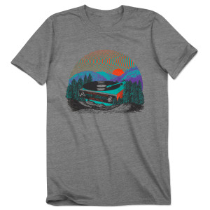 Mike Gordon Mountain Wax Tour T on Tri-Blend Grey