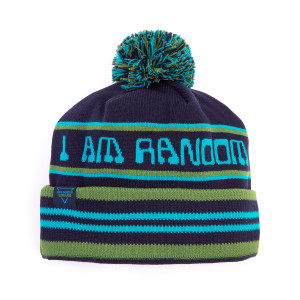 I Am Random Winter 2020 Pom Beanie