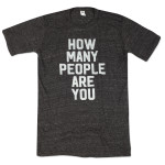 Mike Gordon How Many People Are You Tri-Blend T