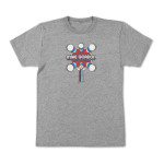 Mike Gordon Ping Pong Tour T on Tri-Grey