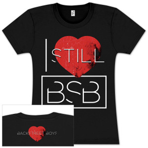 Backstreet Boys I Still Love BSB Ladies T-Shirt