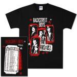 Backstreet Boys Tickets Tour T-Shirt