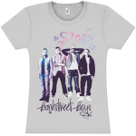 Backstreet Boys BSB and Hearts Girlie T-Shirt