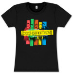 Backstreet Boys Stripes Girls Tee