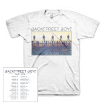 Backstreet Boys 2014 Sunset Adult T-Shirt
