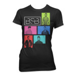 Backstreet Boys Color Screens Junior T-Shirt