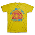 Backstreet Boys Showtime Gold T-Shirt