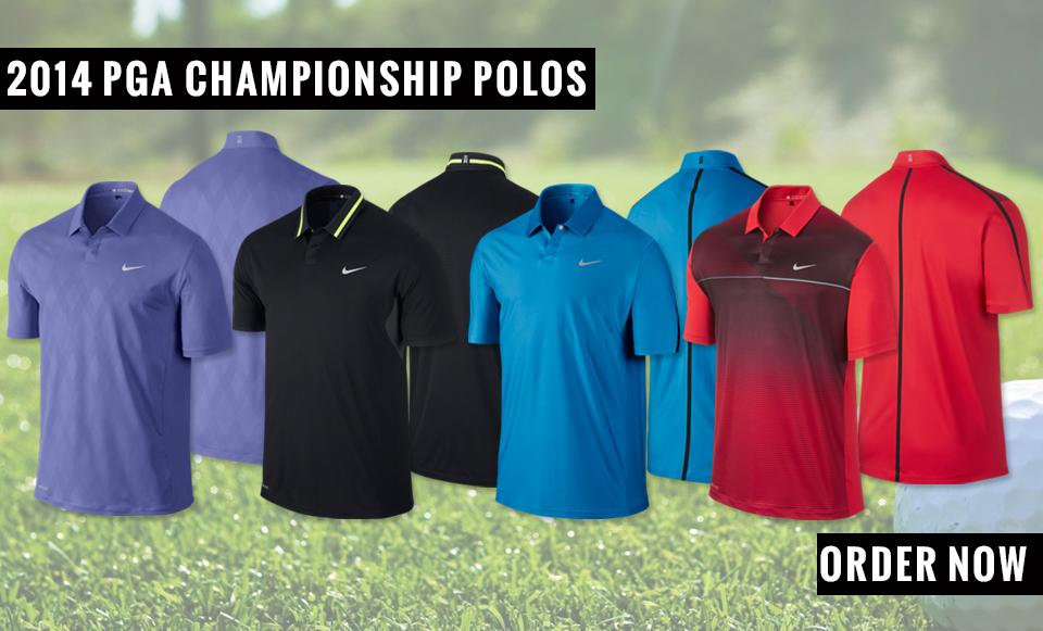 2014 PGA Championship Polos