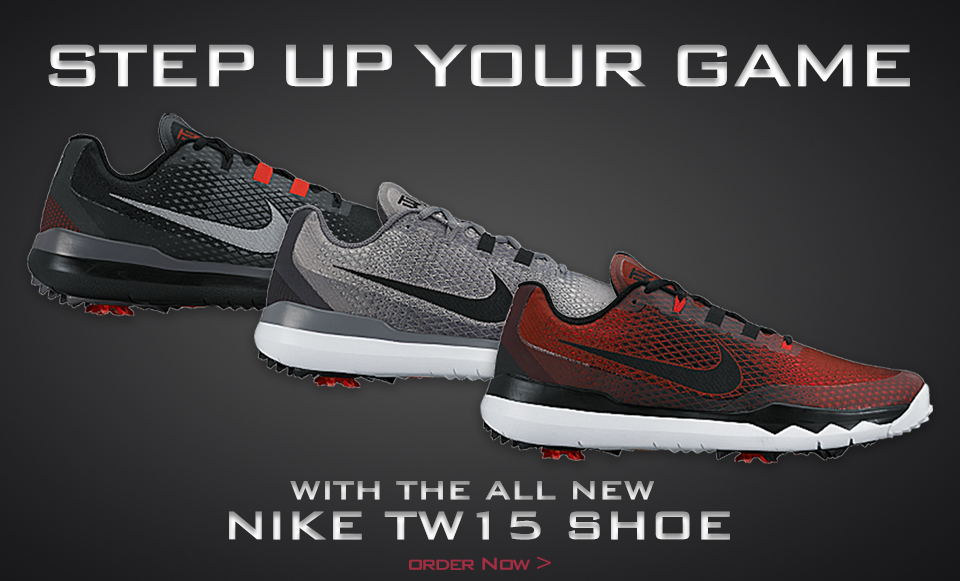 New TW15 Nike Golf Shoes!