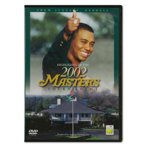2002 Masters DVD featuring Tiger Woods