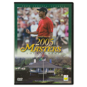 2005 Masters DVD featuring Tiger Woods