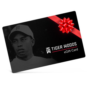 Tiger Woods Electronic Gift Certificate
