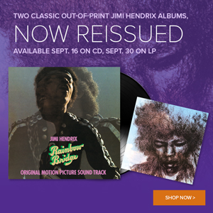 Jimi Hendrix Now Reissued!