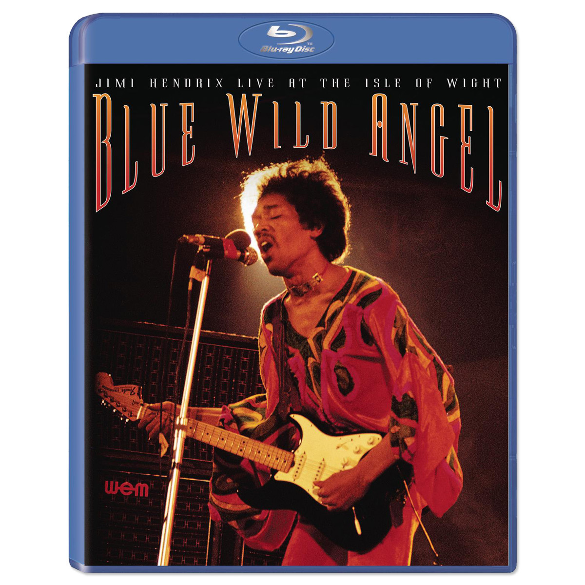 Jimi Hendrix Blue Wild Angel: Live at the Isle of Wight BluRay DVD