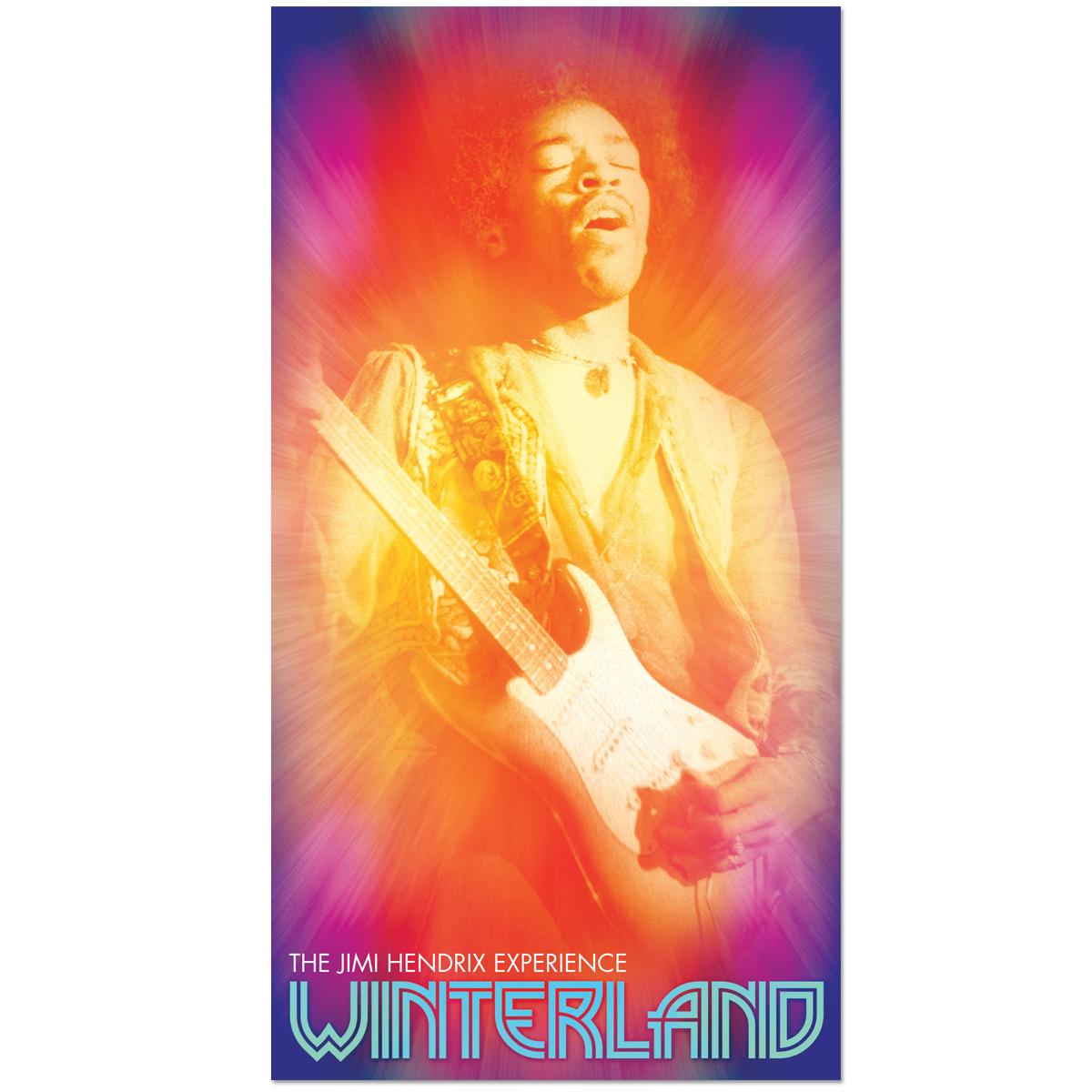 The Jimi Hendrix Experience: Winterland 4-CD Digipak