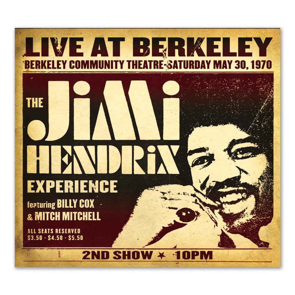 Jimi Hendrix Experience: Live At Berkeley CD