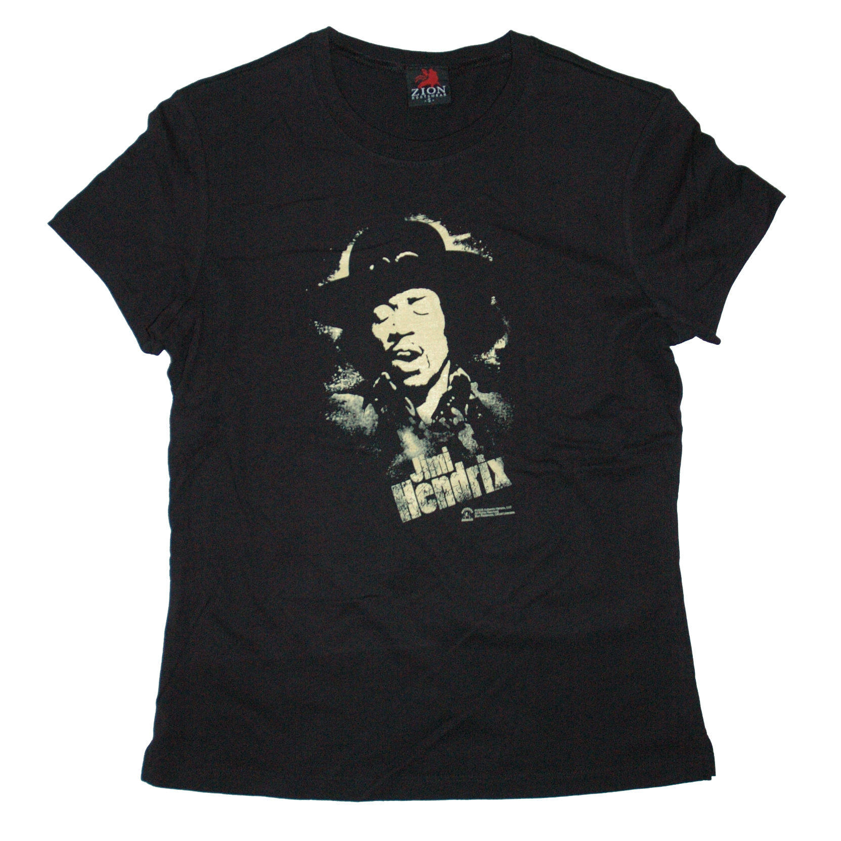 Hendrix Stencil Ladies T-Shirt