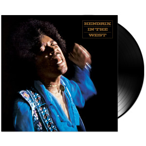 "Jimi Hendrix: Hendrix in the West 2-LP 12"" 200g Vinyl"