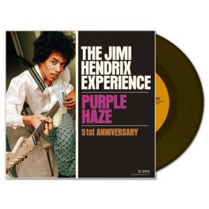Jimi Hendrix Experience: Purple Haze 51st Anniversary 7 inch LP