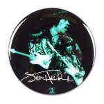 Jimi Hendrix: Shrine Auditorium 1968 Signature Button