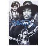 Jimi Hendrix Photo Collage Poster
