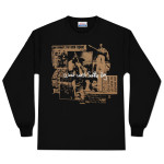 Jimi Hendrix Seattle Boy Long Sleeve Shirt - Gold