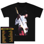 Experience Hendrix 2014 Black T-Shirt (Miami Pop Design)