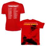 Experience Hendrix 2014 Tour Schedule Tee
