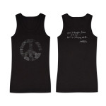 Hendrix - 2014 Ladies Power to People Black Tank